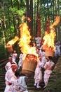 熊野那智大社の那智の火祭