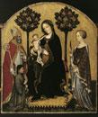 """""""Thronende Maria mit dem Kind und Heiligen"""""""