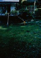 テラスと庭