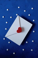 手紙 クラフト 00241010755| 写真素材・ストックフォト・画像・イラスト素材|アマナイメージズ