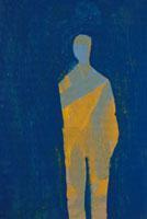 たたずむ人物 00241012020| 写真素材・ストックフォト・画像・イラスト素材|アマナイメージズ