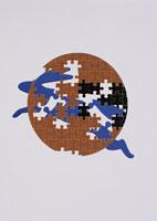 月と兎のパズル