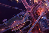 みなとみらいの夜景 00268010449| 写真素材・ストックフォト・画像・イラスト素材|アマナイメージズ