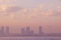 夕景の横浜
