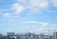 レインボーブリッジと空 00280010403| 写真素材・ストックフォト・画像・イラスト素材|アマナイメージズ