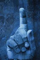 コンスタンティヌス帝の彫刻部分 ローマ イタリア 00282001432| 写真素材・ストックフォト・画像・イラスト素材|アマナイメージズ