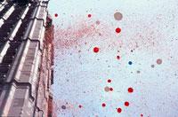 高層ビルと放たれたたくさんの風船 ニューヨーク 00285001415| 写真素材・ストックフォト・画像・イラスト素材|アマナイメージズ