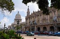ガルシアロルカ劇場と旧国会議事堂