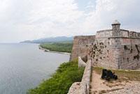 サン・ペドロ・デ・ラ・ロカ城 00293021706| 写真素材・ストックフォト・画像・イラスト素材|アマナイメージズ