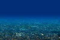 光の灯った街並 00299010466| 写真素材・ストックフォト・画像・イラスト素材|アマナイメージズ