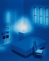 ベッドルーム CG 00330000543| 写真素材・ストックフォト・画像・イラスト素材|アマナイメージズ