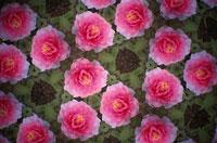 万華鏡の花のパターン(牡丹)