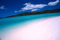 ホワイトヘブンの白砂ビーチ