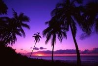 ウベア島のビーチ夕景 00414011238  写真素材・ストックフォト・画像・イラスト素材 アマナイメージズ