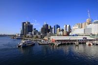 ダーリングハーバーとシドニー市街地 00414011564| 写真素材・ストックフォト・画像・イラスト素材|アマナイメージズ