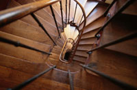 らせん階段 00534000503| 写真素材・ストックフォト・画像・イラスト素材|アマナイメージズ