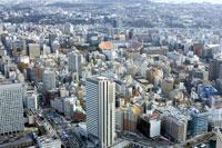 横浜スタジアム周辺の街並 00545010502| 写真素材・ストックフォト・画像・イラスト素材|アマナイメージズ