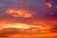 夕焼け雲 00556010210| 写真素材・ストックフォト・画像・イラスト素材|アマナイメージズ