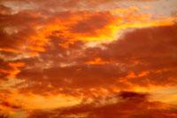 夕焼け雲 00556010211| 写真素材・ストックフォト・画像・イラスト素材|アマナイメージズ