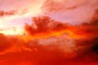 夕焼け雲 00556010212| 写真素材・ストックフォト・画像・イラスト素材|アマナイメージズ