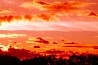 夕焼け雲 00556010223| 写真素材・ストックフォト・画像・イラスト素材|アマナイメージズ