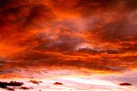 夕焼け雲 00556010225| 写真素材・ストックフォト・画像・イラスト素材|アマナイメージズ