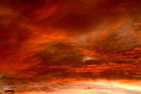夕焼け雲 00556010226| 写真素材・ストックフォト・画像・イラスト素材|アマナイメージズ