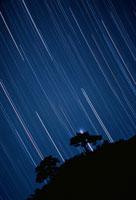 新発田市の星空 新潟県 00616000049  写真素材・ストックフォト・画像・イラスト素材 アマナイメージズ