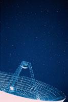 パラボラアンテナ 00616010028  写真素材・ストックフォト・画像・イラスト素材 アマナイメージズ
