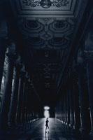 サンパオロフォーリレムーラ大聖堂(B/W) ローマ イタリア