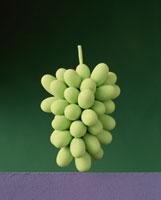 マスカットの房(緑色)のイメージ 00684000535| 写真素材・ストックフォト・画像・イラスト素材|アマナイメージズ