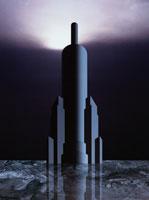 塔のある建物(灰色) 00684010055| 写真素材・ストックフォト・画像・イラスト素材|アマナイメージズ