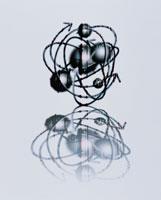 矢印が取り巻く球体 CG 00684010084| 写真素材・ストックフォト・画像・イラスト素材|アマナイメージズ