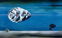 浮かぶアブストラクトな物体 CG 00684010103| 写真素材・ストックフォト・画像・イラスト素材|アマナイメージズ