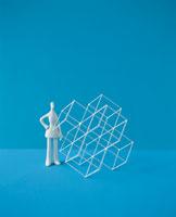 立体物と人物のクラフト