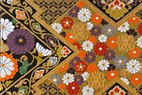 帯柄 西陣織 00690010123| 写真素材・ストックフォト・画像・イラスト素材|アマナイメージズ