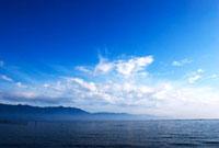 琵琶湖と空