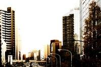 都会のビルの街並 00693012166| 写真素材・ストックフォト・画像・イラスト素材|アマナイメージズ