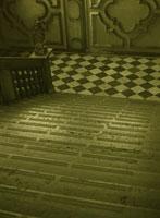 古い階段とてすり