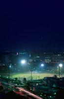 夜の野球場