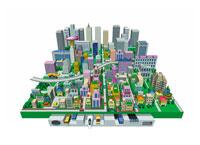 都市構造図