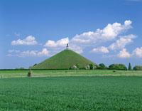 ワーテルローのライオンの丘 ベルギー