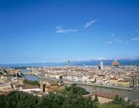 街並みの展望 イタリア