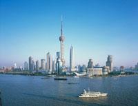 プードンエリア  上海 中国