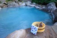 幕川温泉 水戸屋旅館の露天風呂
