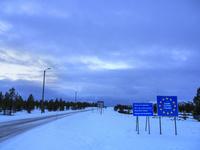 フィンランドとノルウェイの国境