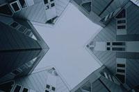 キューブの形をしたアパートメント ロッテルダム オランダ