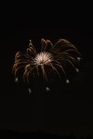 いせはら芸術花火大会の創造花火ミルククラウン 01071012118| 写真素材・ストックフォト・画像・イラスト素材|アマナイメージズ