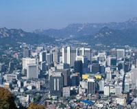 ソウル市街の眺望 韓国