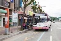 安東の市内バス